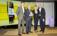 2014 Partner Dynamics prize from Microsoft Ibérica for the IFR Group, a company located at the Parc Científic